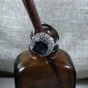Jewelry - Sterling Silver and White and Blue Topaz*